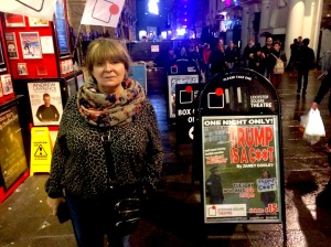 Janey Godley. Beyond? Leicester Square and Harry Potter