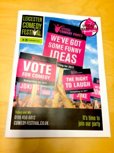 The Leicester Comedy Festival brochure 2017
