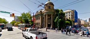 The junction of Main and Hastings in Vancouver