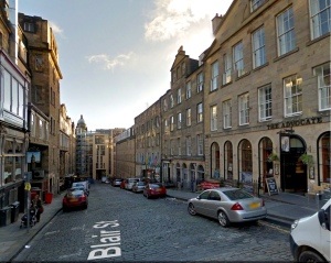 Google StreetView's take on Blair Street, Edinburgh