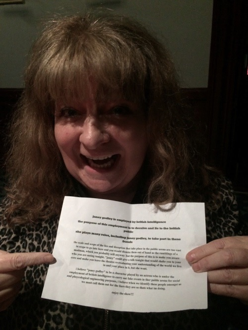 Janey Godley and the letter from a non-fan