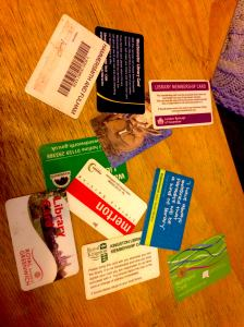 Peter's multiple London library cards