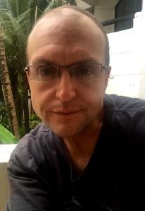 A selfie by Alex Petty in Thailand