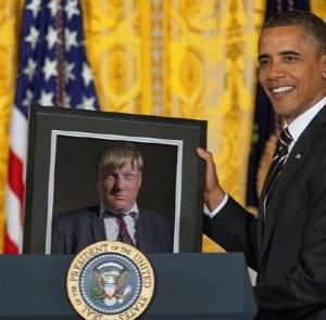 Orange is the new black in the US Donald Trump Simon Jay