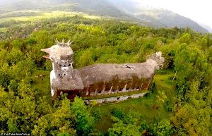 The Chicken Church in the Indonesian jungle